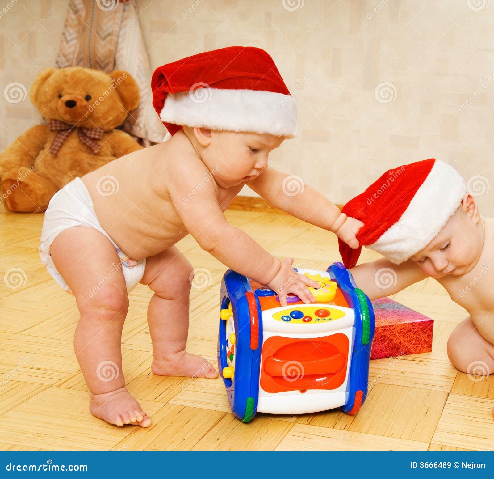 婴孩圣诞节帽子