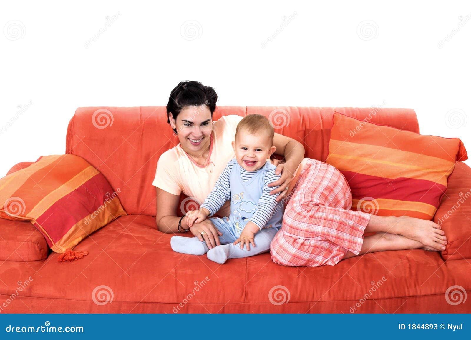 婴孩家庭母亲