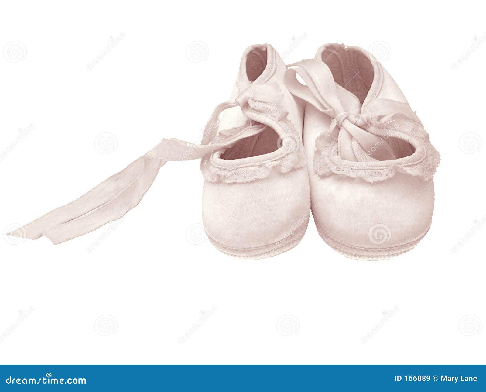 婴孩查出的鞋子