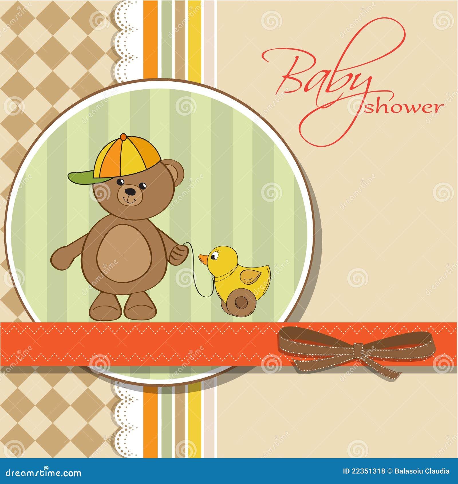 婴孩熊男孩看板卡鸭子他的女用连杉&#