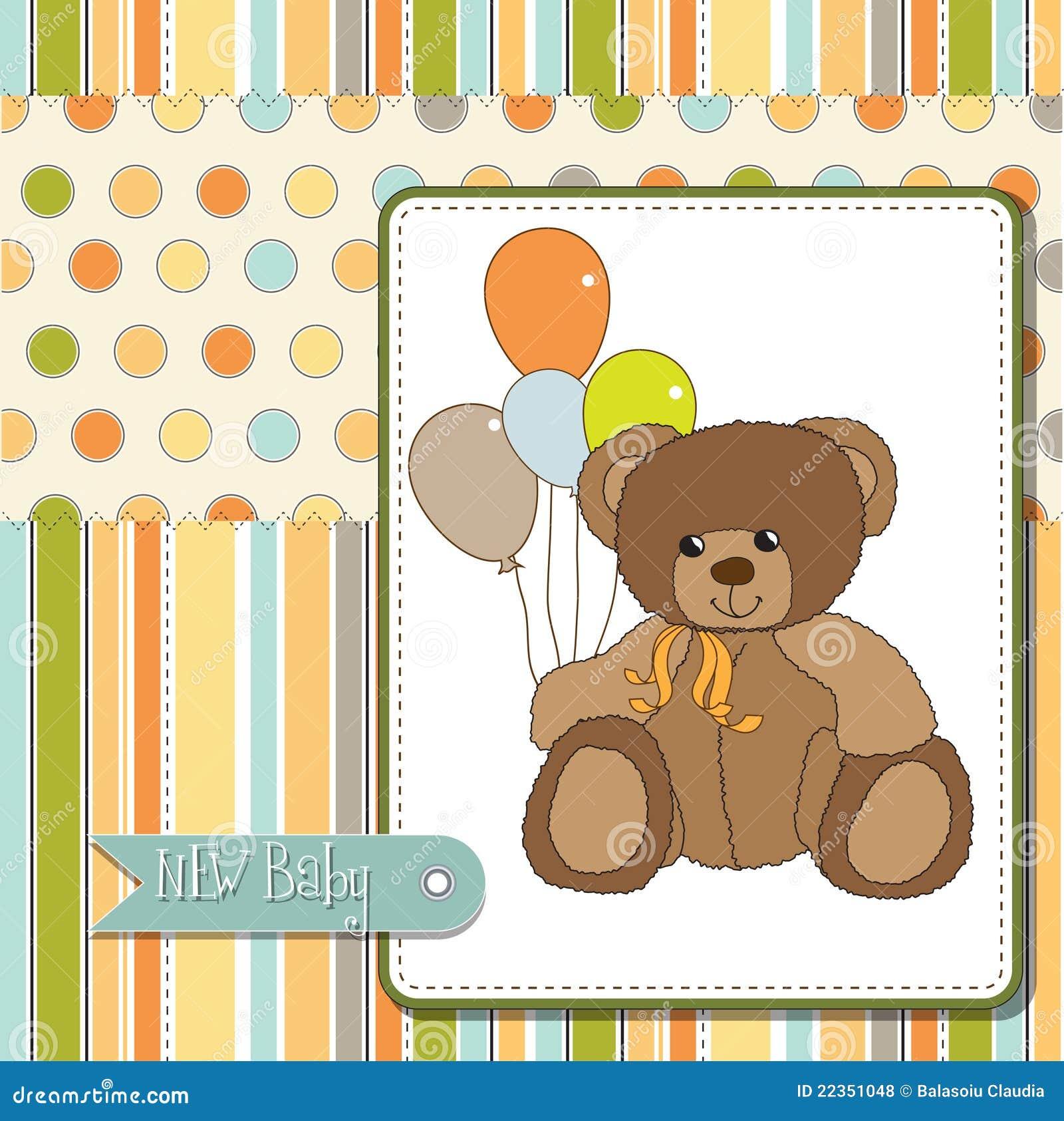 婴孩熊看板卡问候女用连杉衬裤