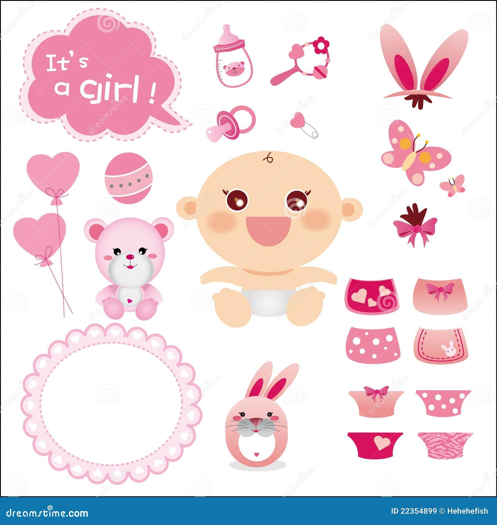 婴孩逗人喜爱的女孩图象