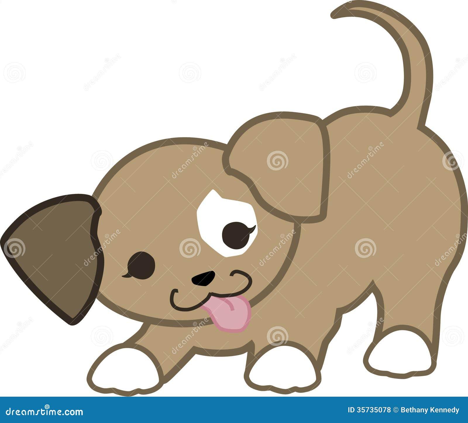 嬉戏的小狗Kawaii