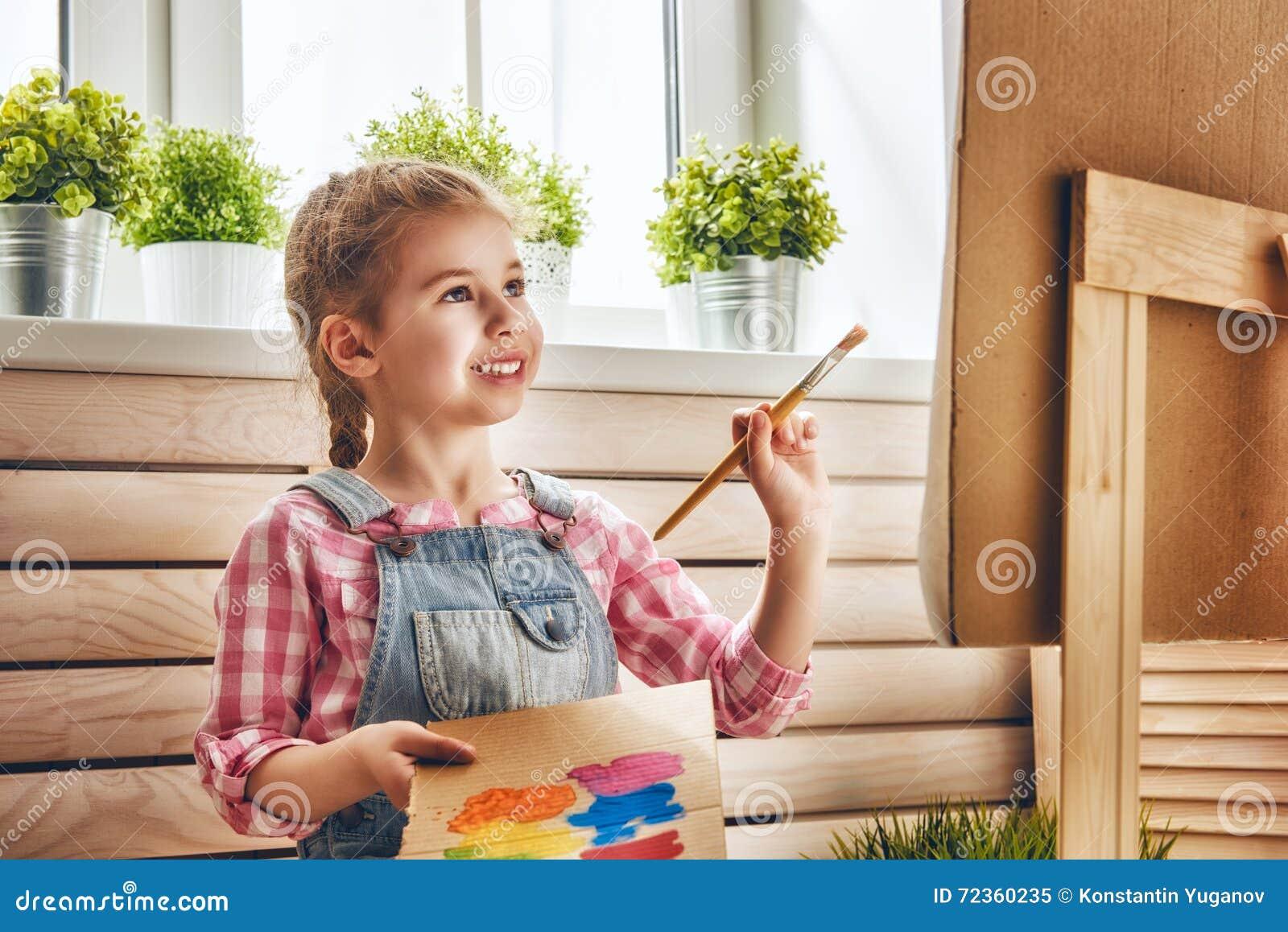子项画油漆