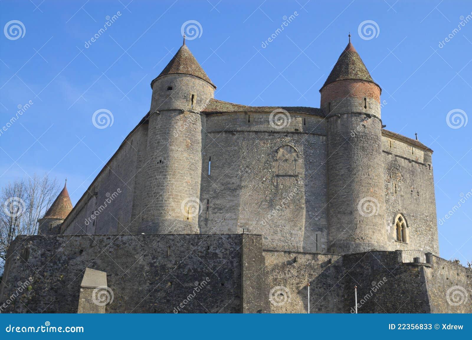 孙子城堡在瑞士