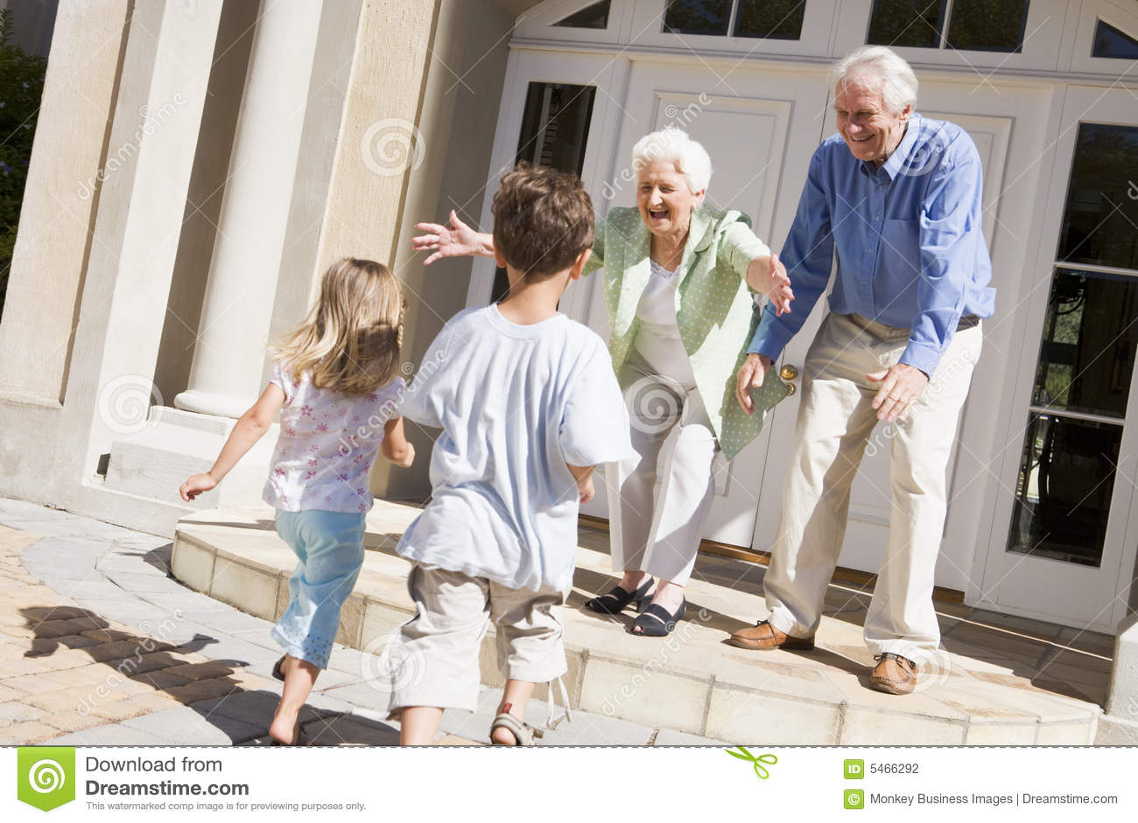 孙祖父项欢迎