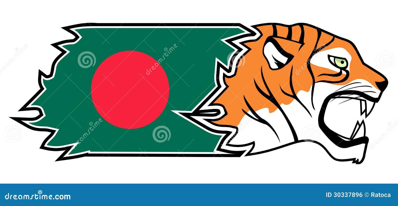 孟加拉国的老虎