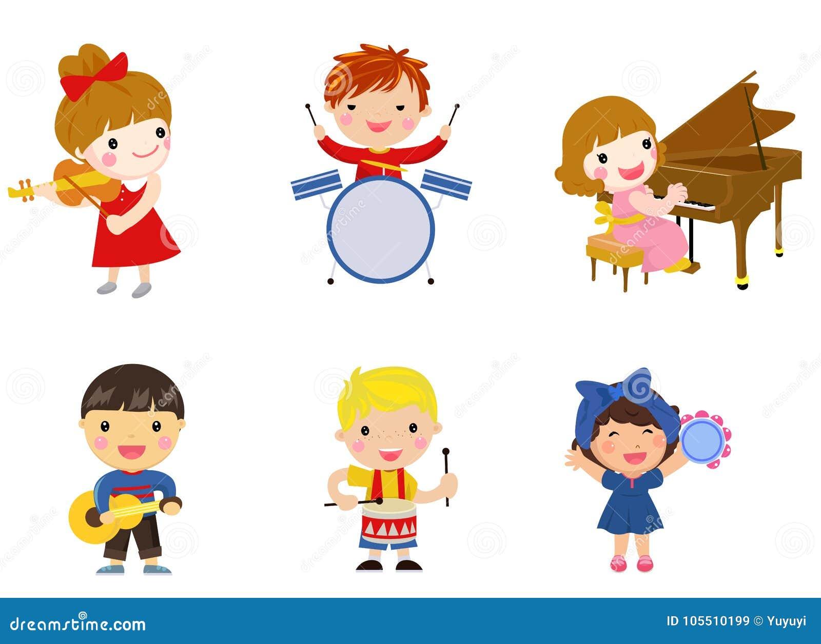 孩子和音乐