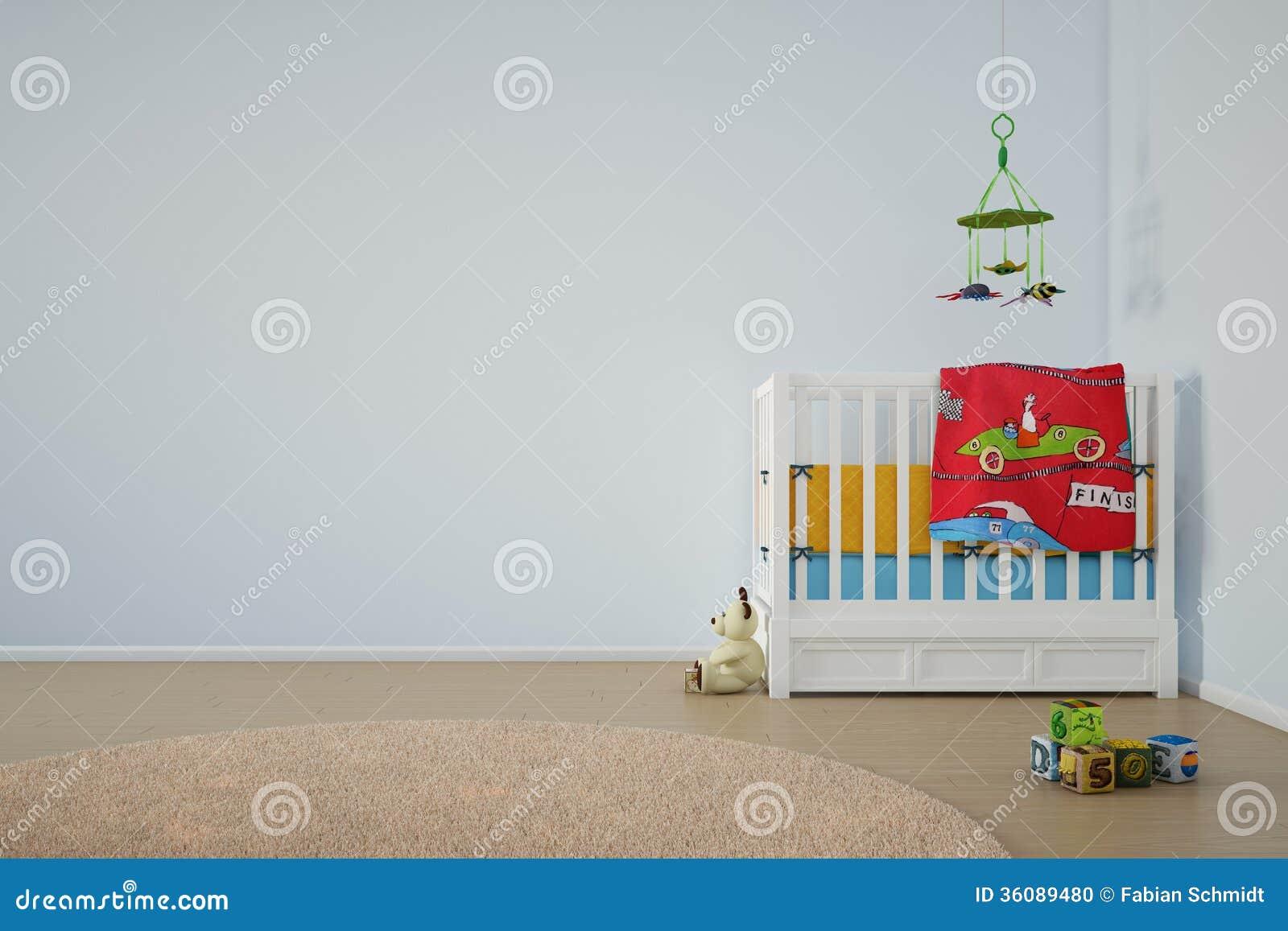 孩子有床的戏剧室