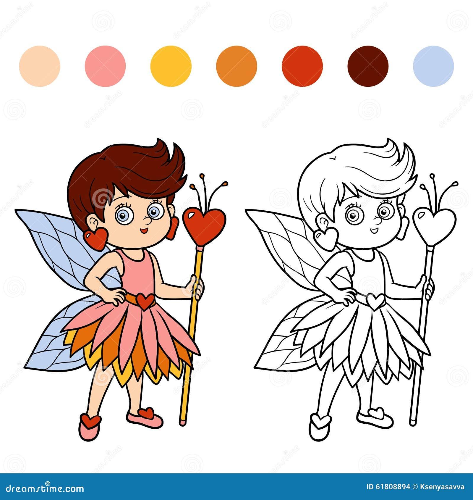 孩子的彩图:小神仙