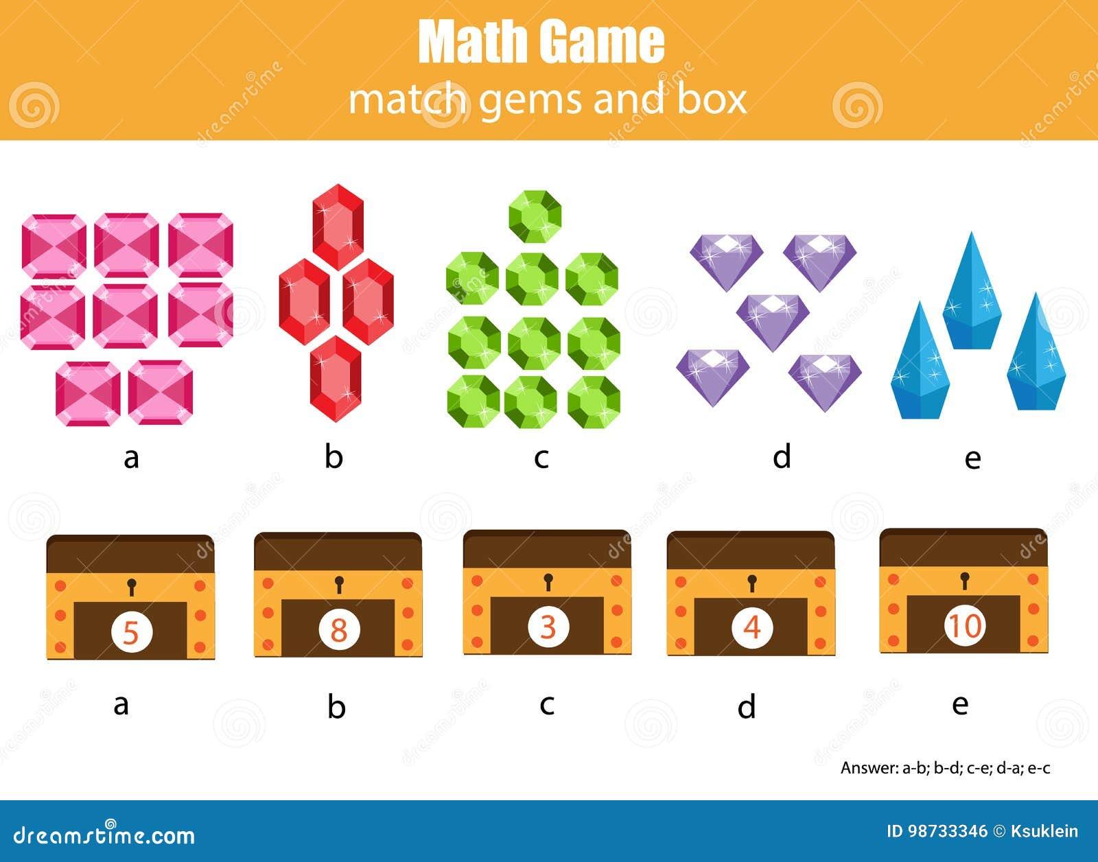 孩子的算术教育比赛 配比的数学活动 计数比赛孩子