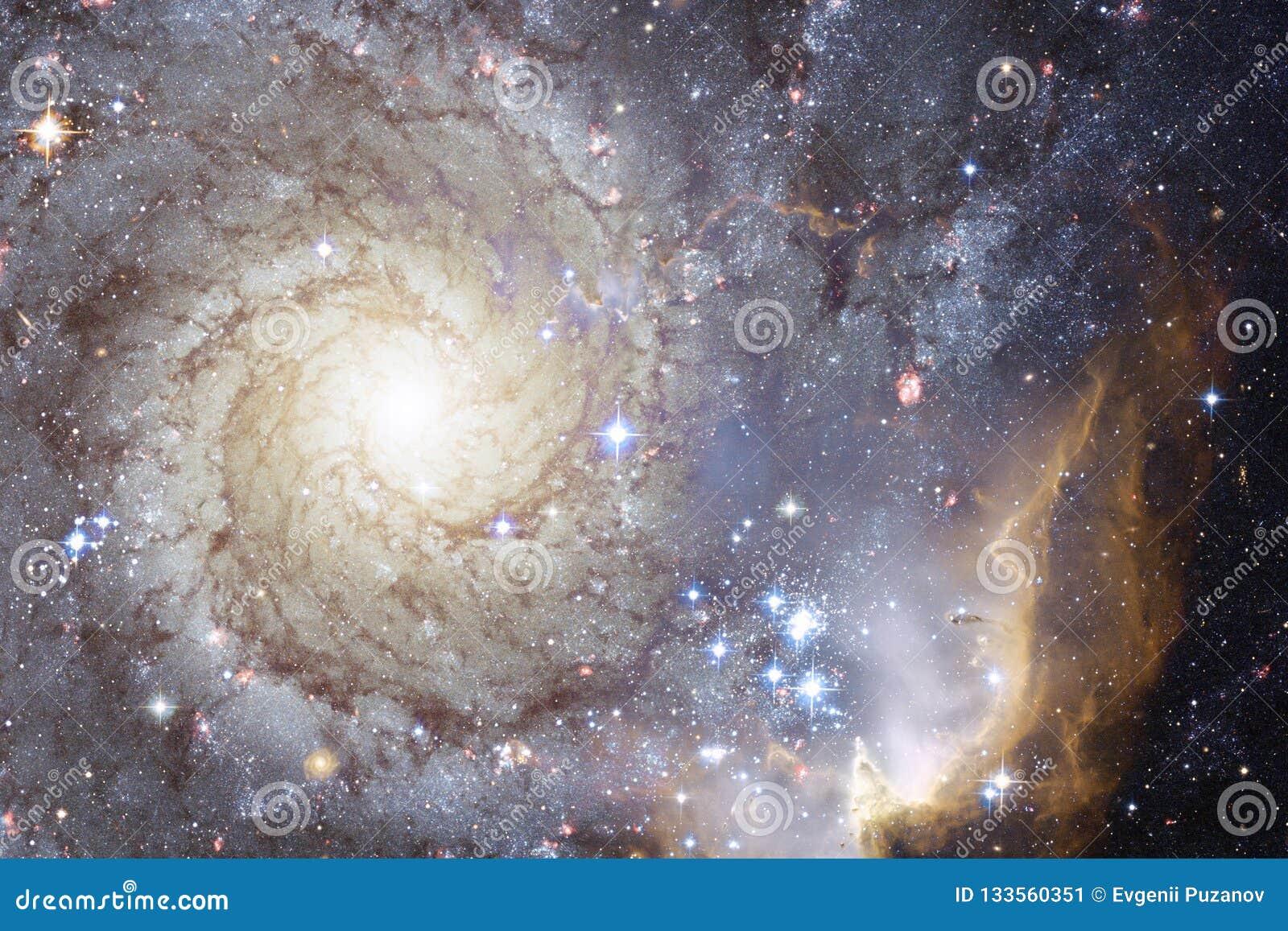 宇宙填装了星、星云和星系 宇宙艺术,科幻墙纸