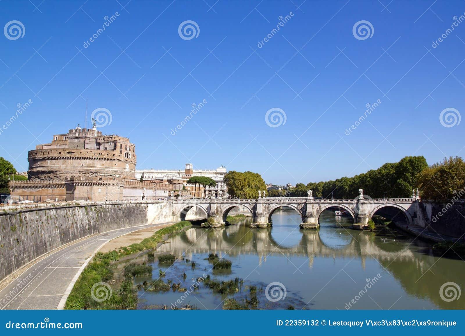 安吉洛桥梁城堡罗马st