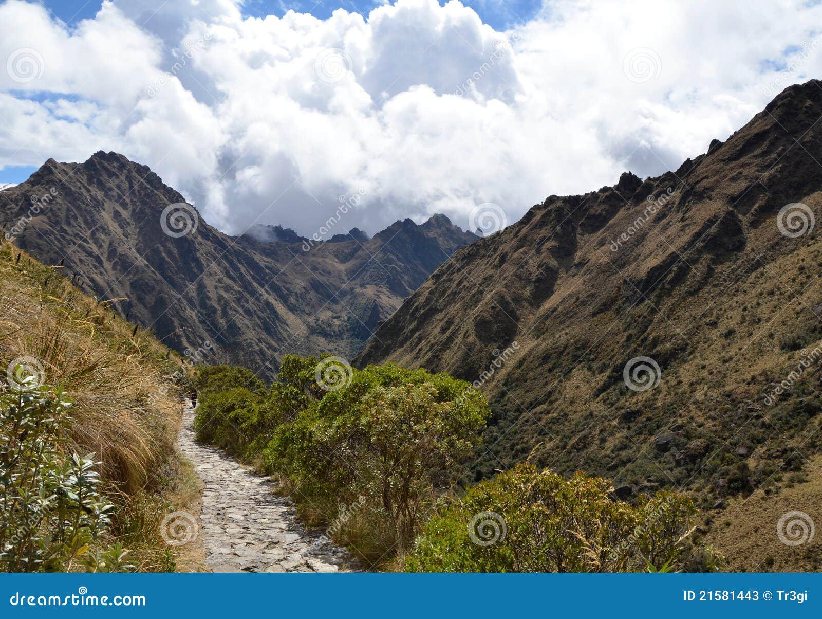 安地斯印加人路径石头线索