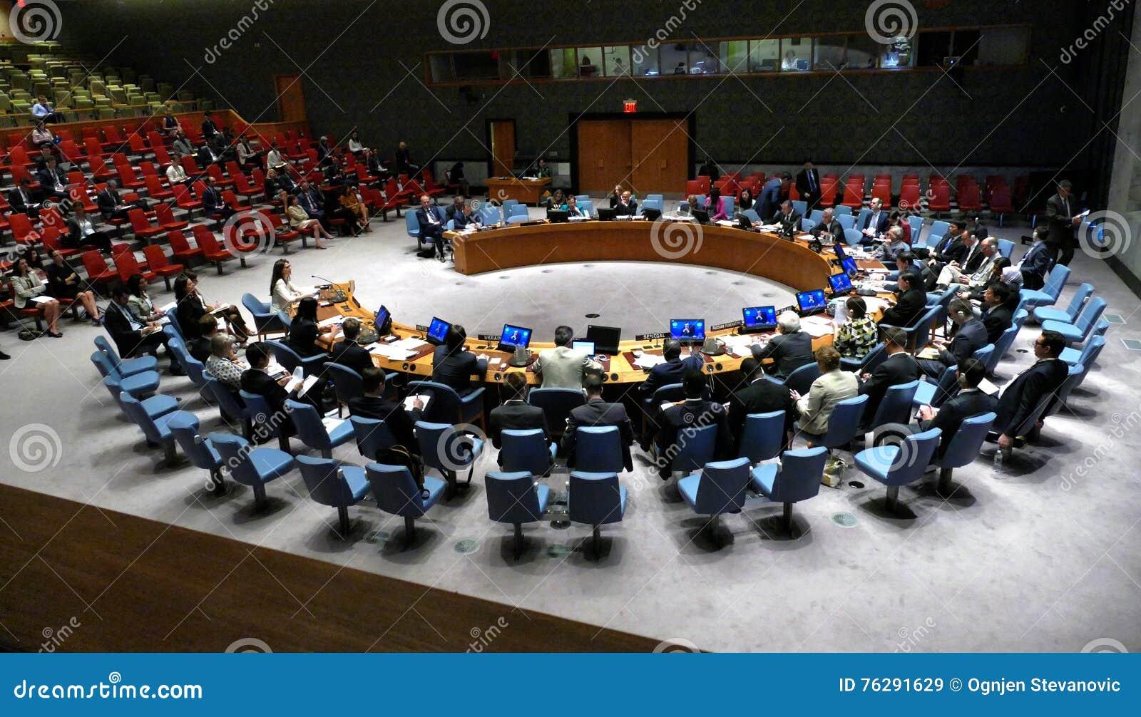 安理会7760见面的联合国