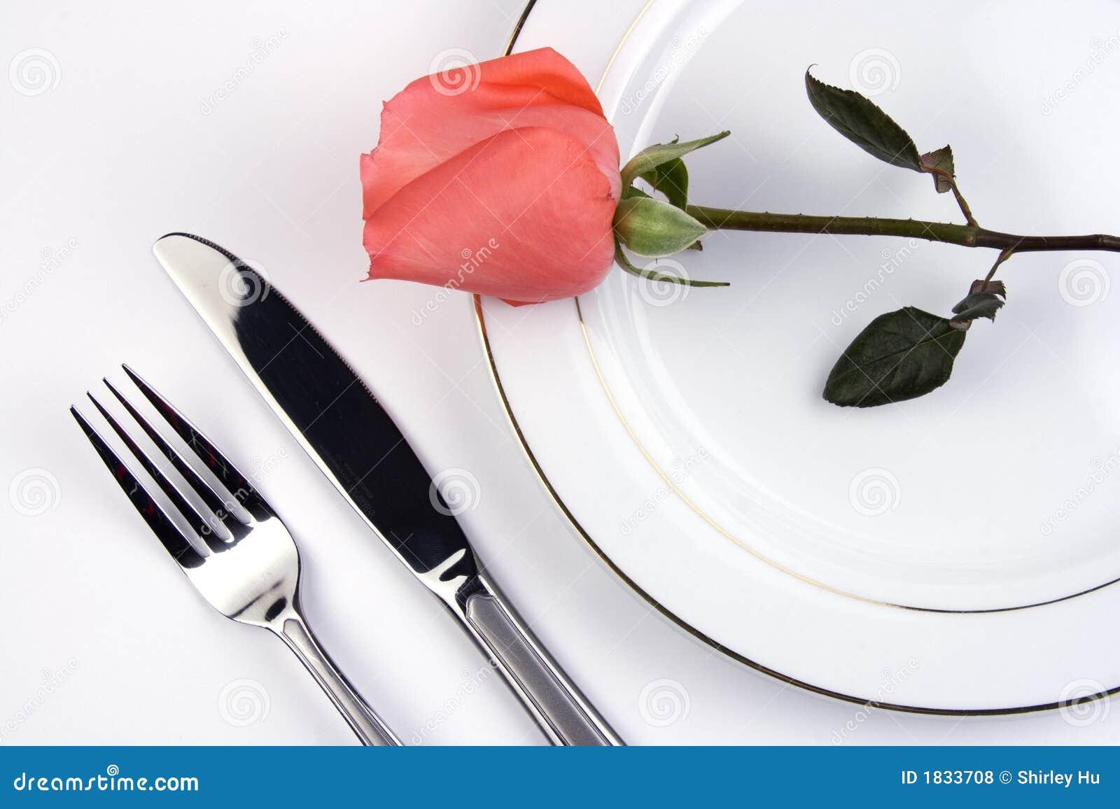 安置玫瑰色设置