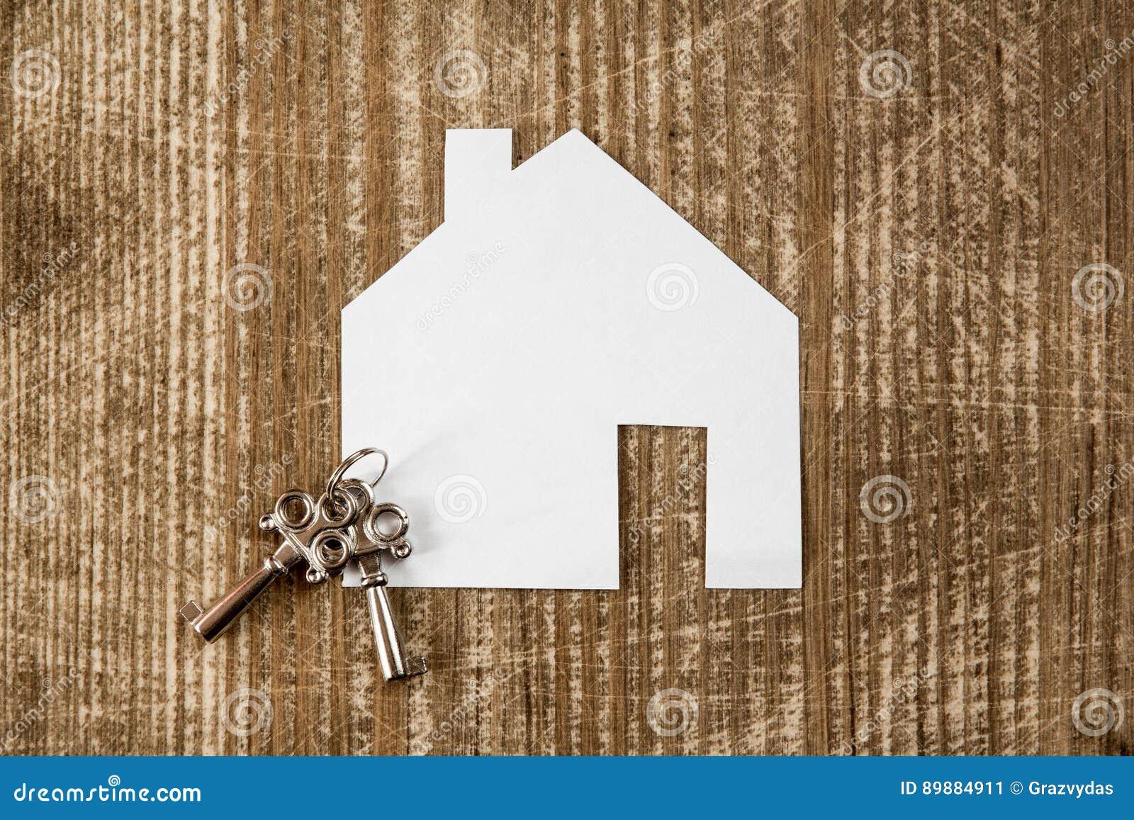 安置象和钥匙,房地产概念