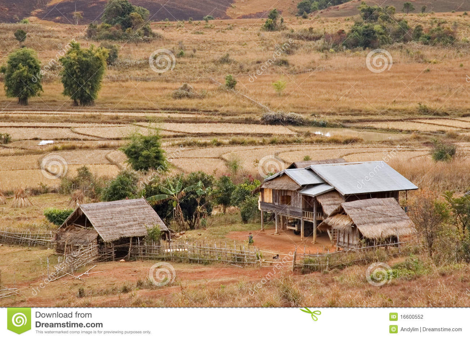 xieng福_安置khouang老挝农村xieng
