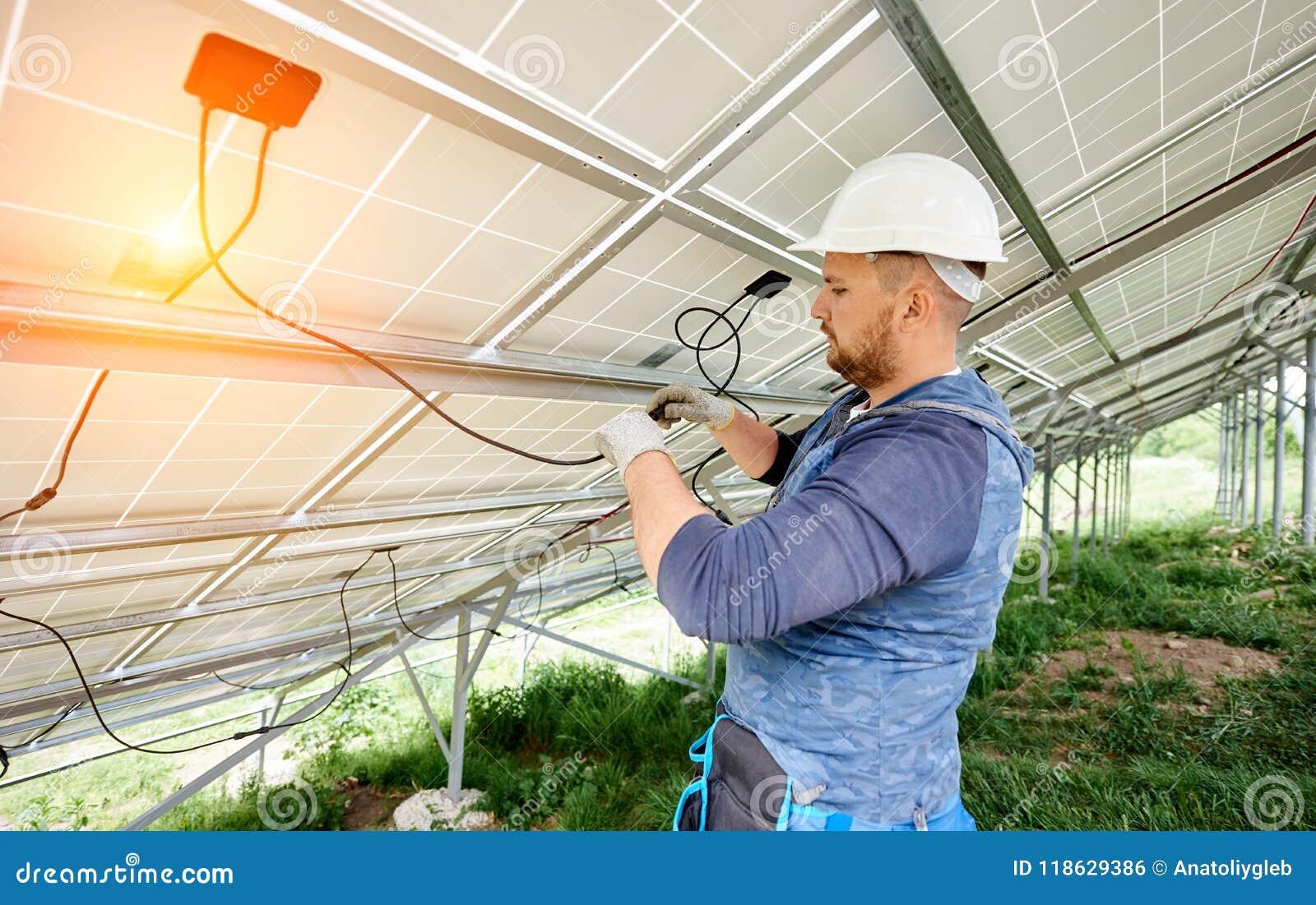 安装太阳照片流电盘区系统