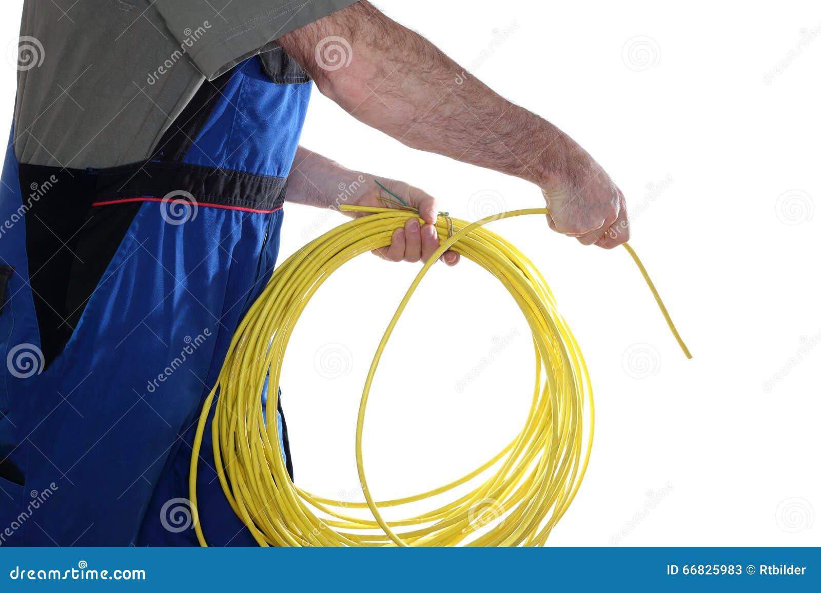 安装网络缆绳