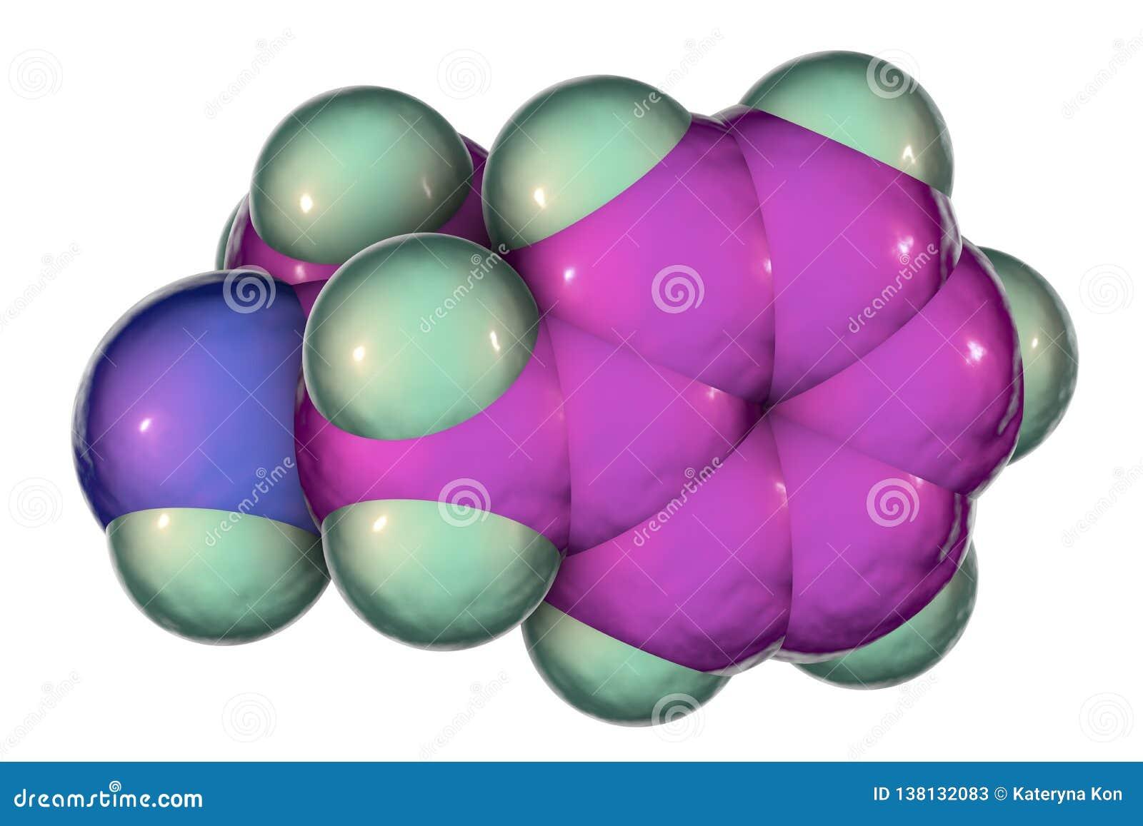 安非他明分子,中央神经系统一种强有力的兴奋剂