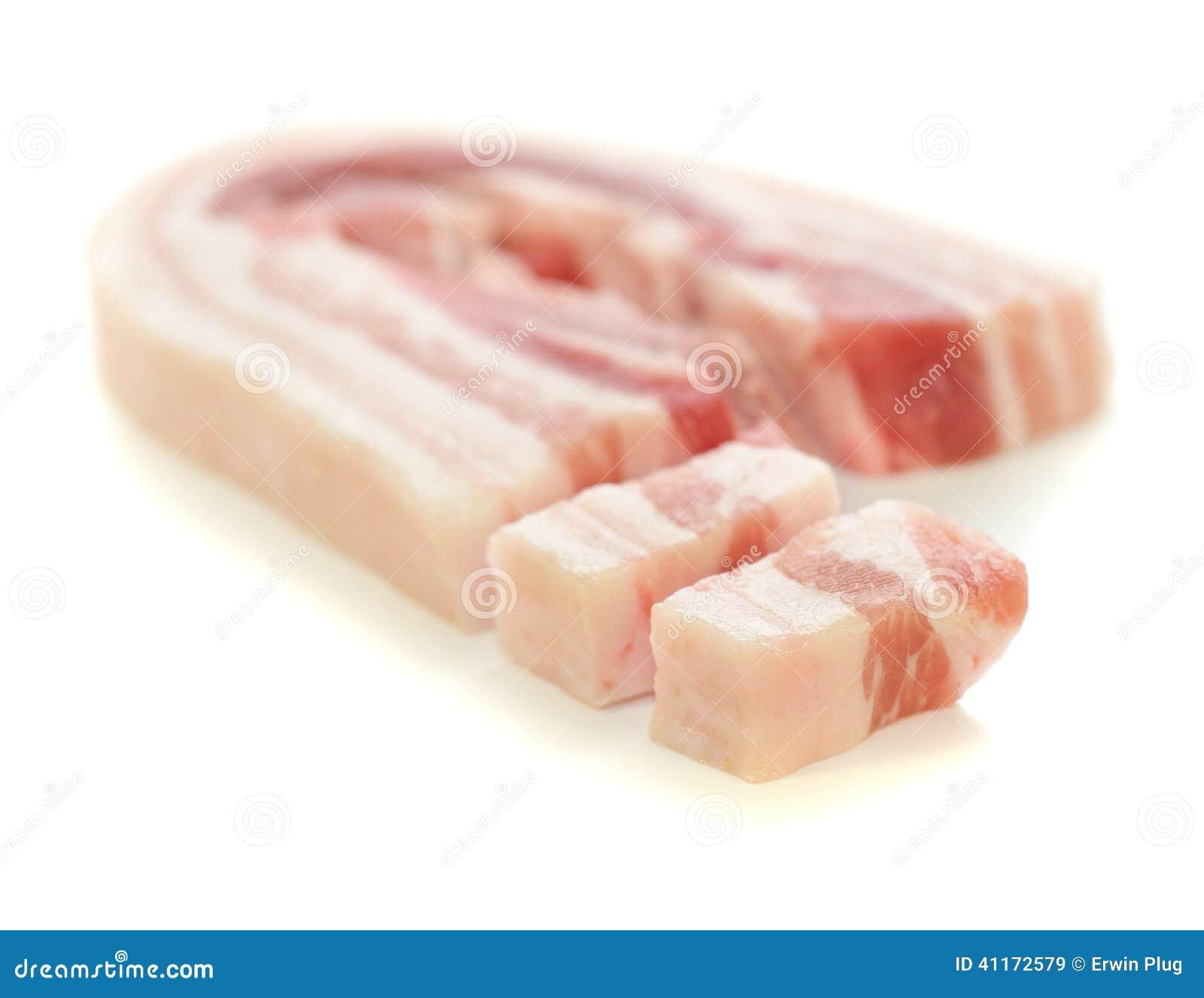 完全和切的烟肉