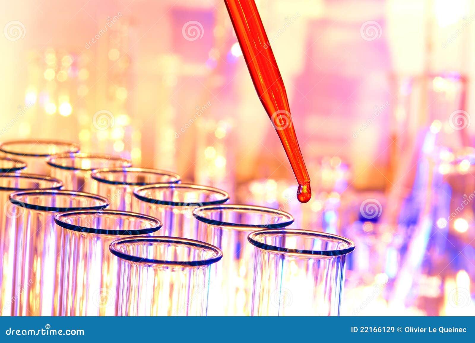 实验室实验室研究科学试管