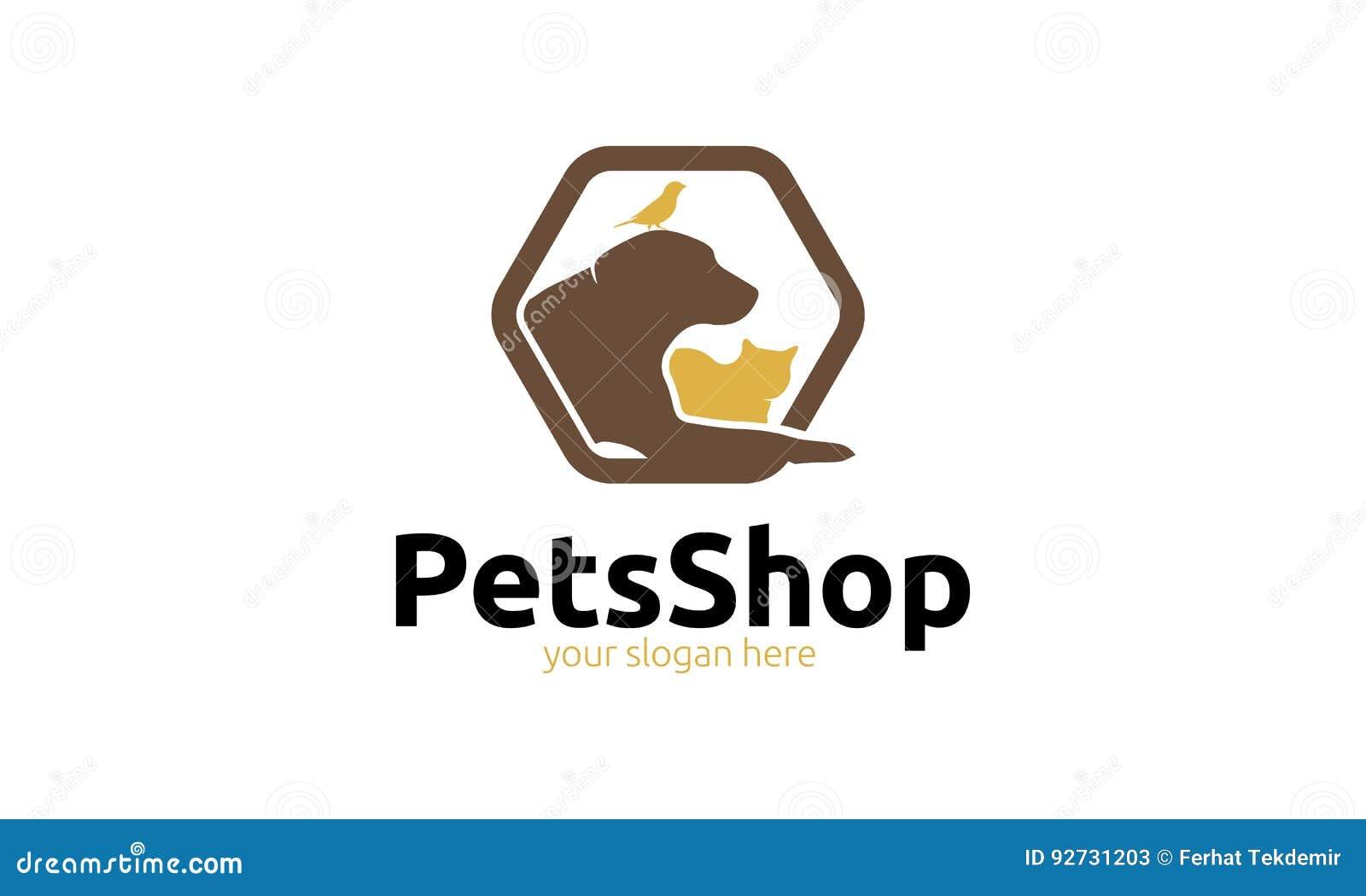宠物店商标