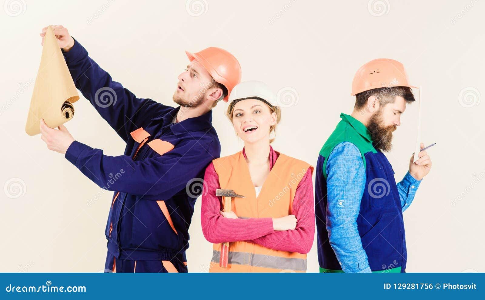 审查员失望关于雇员,建造者 建造者,建筑师,修理匠