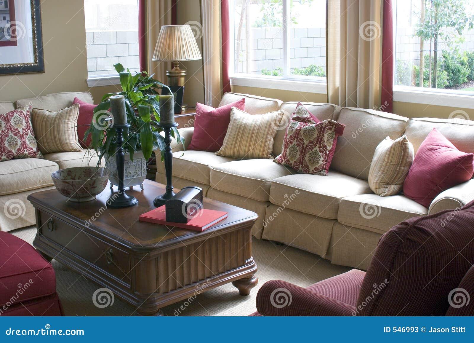 Download 客厅 库存图片. 图片 包括有 装饰, 居住, 房子, 里面, 沙发, 设计, 长沙发, 系列, 内部, 空间 - 546993