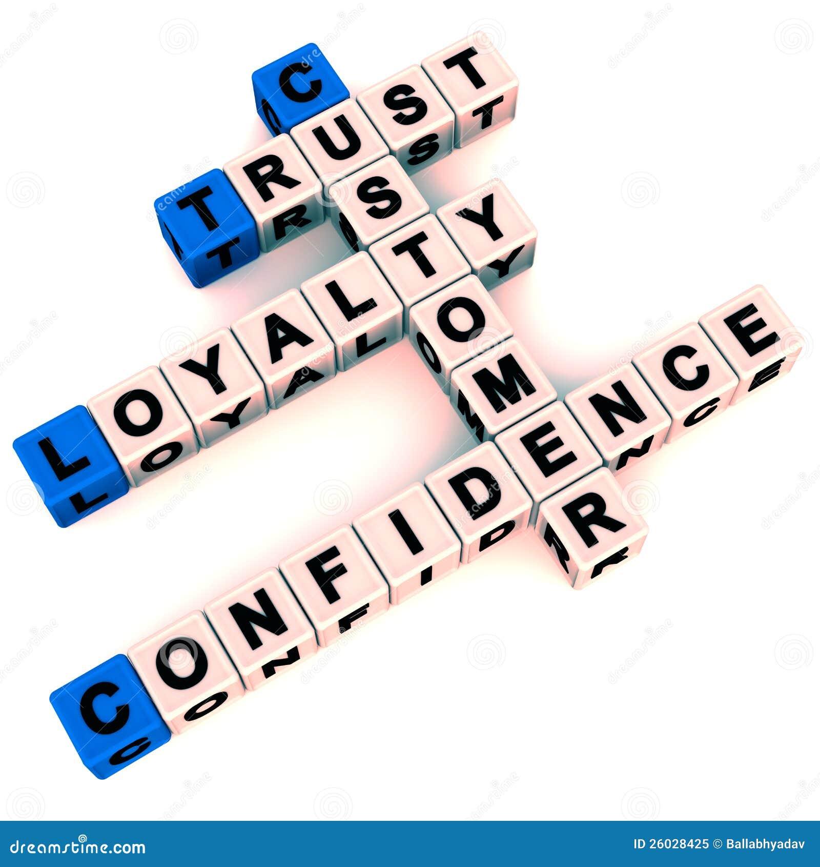 客户忠诚度和信任