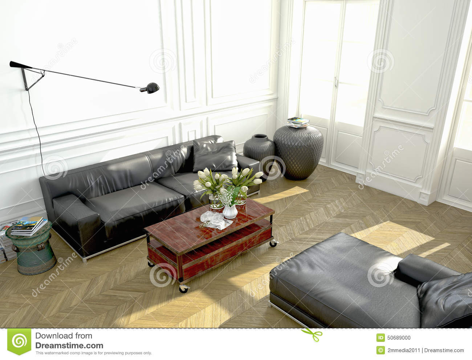 Download 室内设计,客厅 3d翻译 库存照片. 图片 包括有 没人, 内部, 木条地板, 国内, 生活方式, 居住 - 50689000