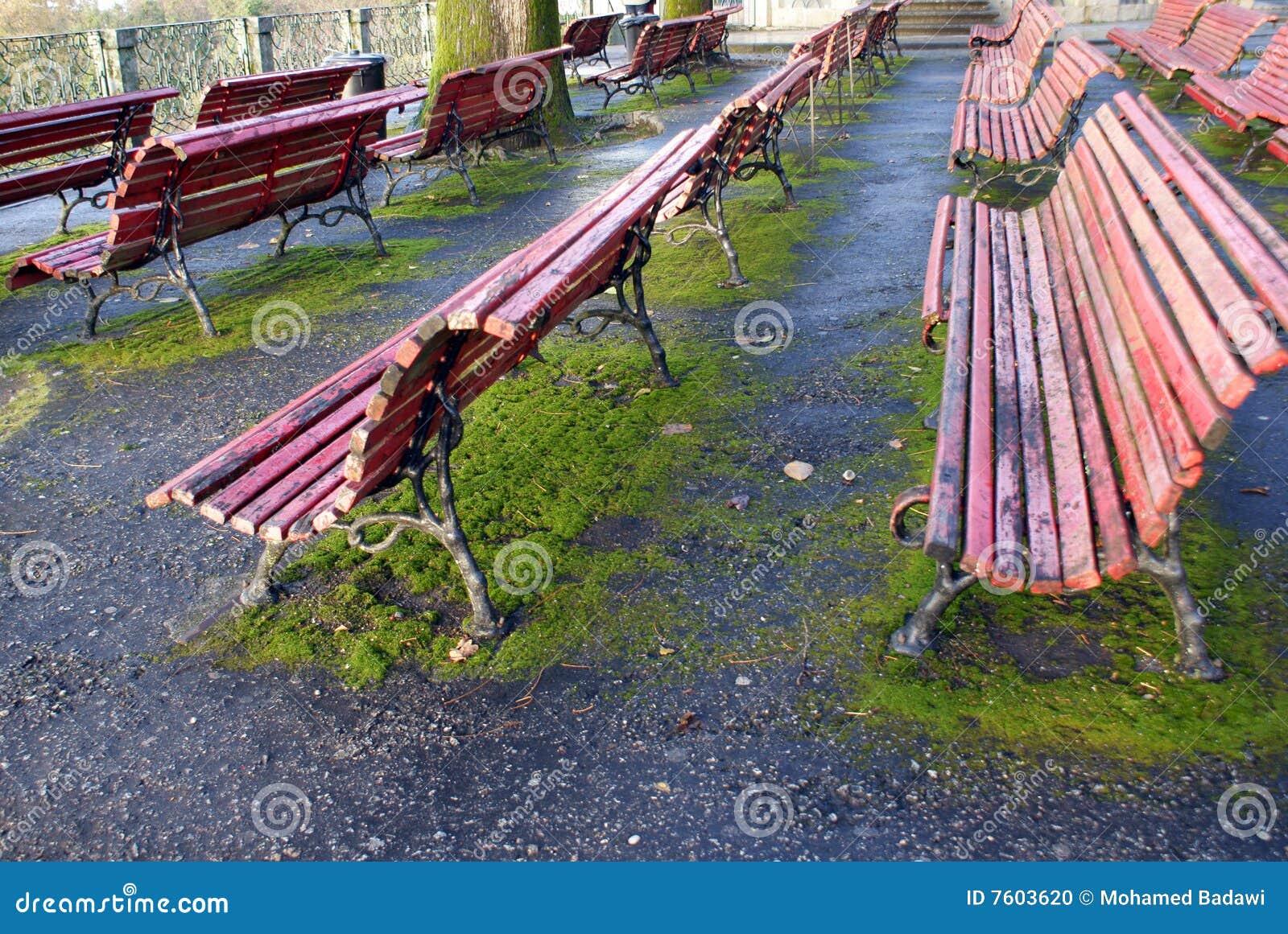 室外的benchs