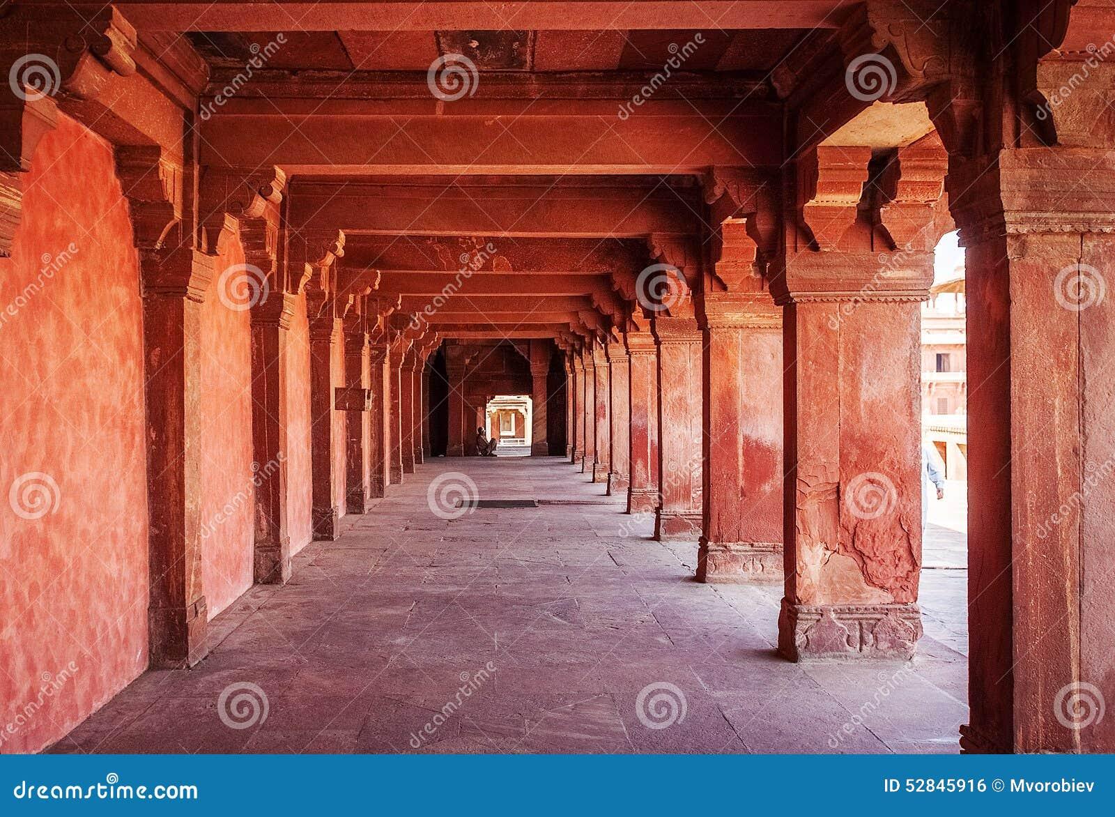 宫殿古老废墟  fatehpur印度sikri