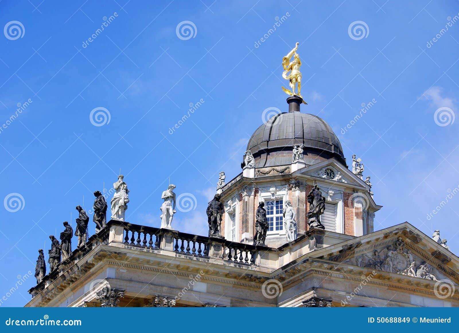 Download 宫殿在Sanssouci公园 库存图片. 图片 包括有 皇家, beautifuler, brandon - 50688849