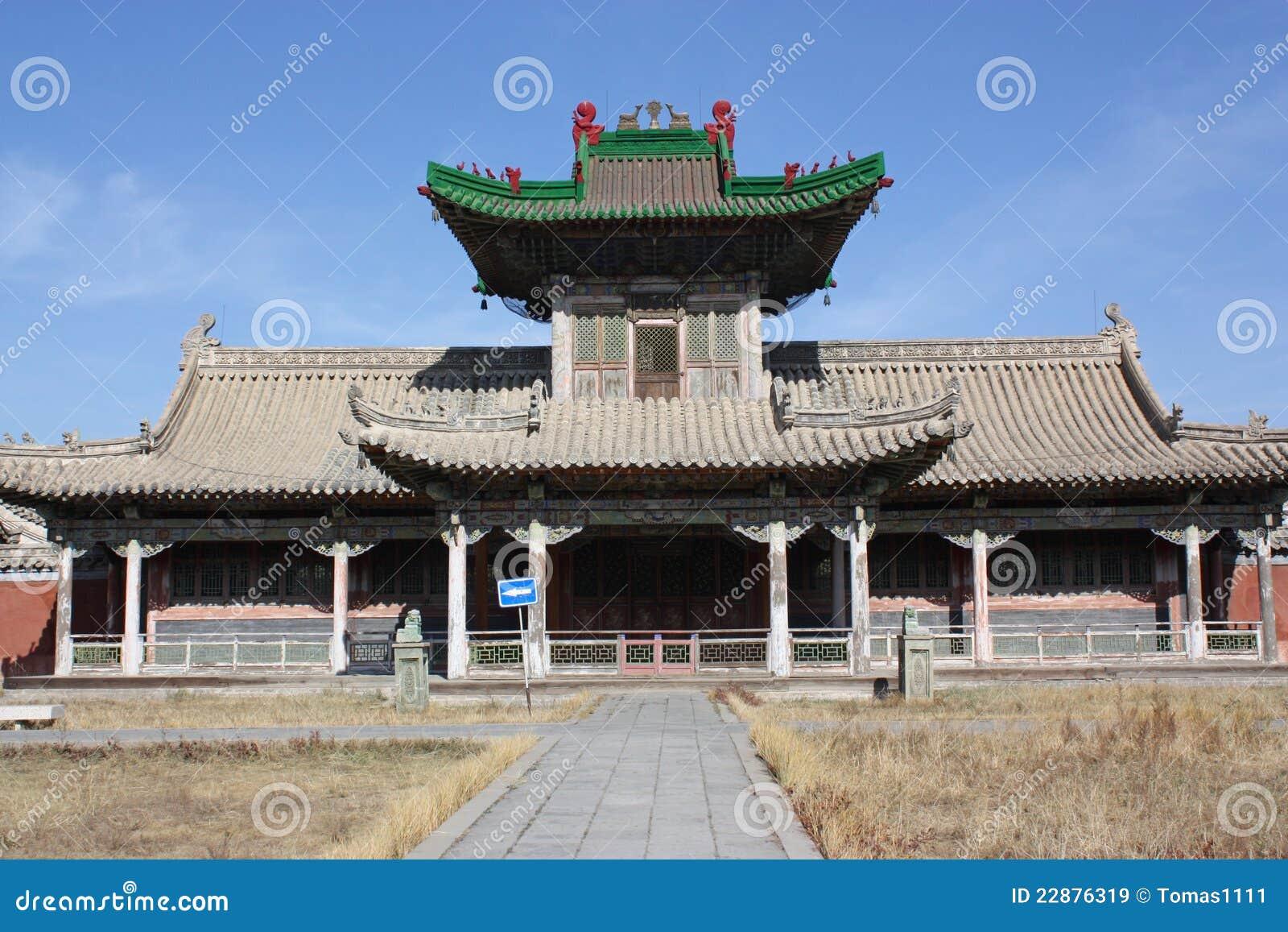宫殿ulaanbaatar冬天