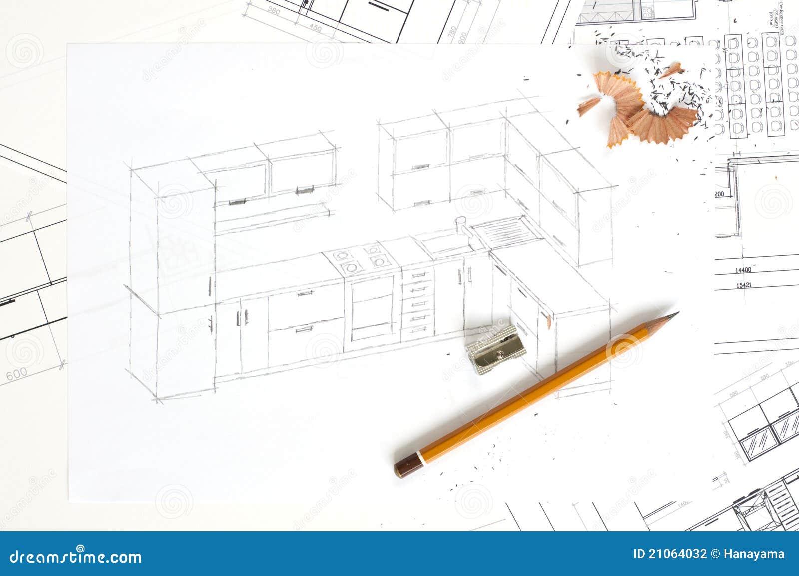 家具厨房草图