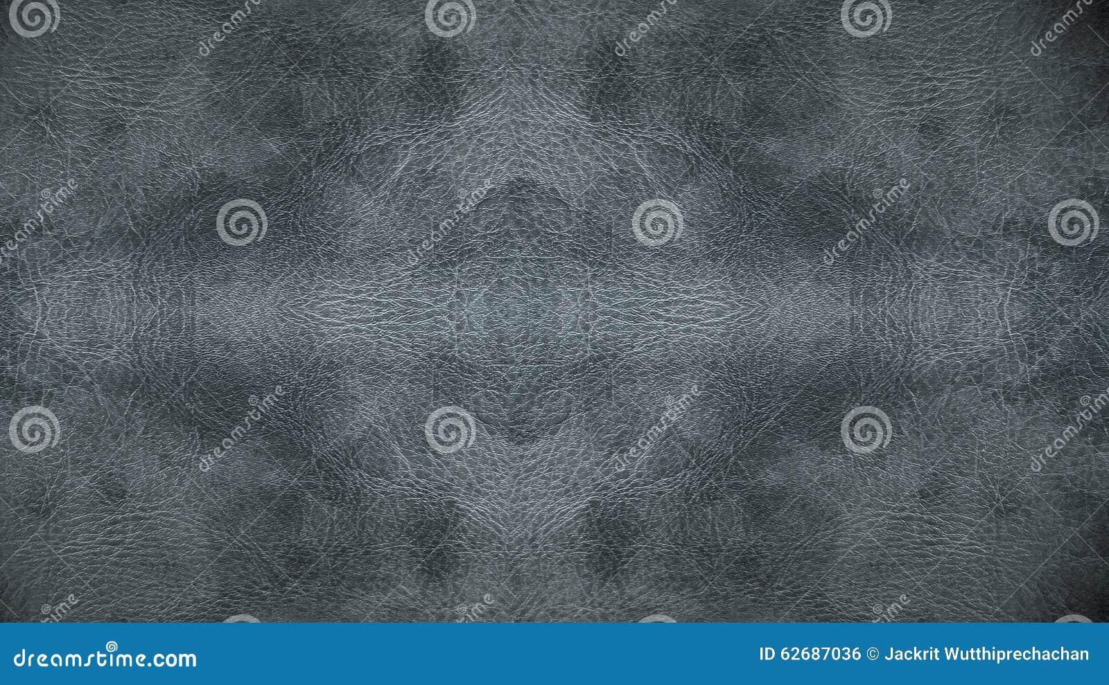 家具材料的半新浅灰色的皮革无缝的样式背景纹理