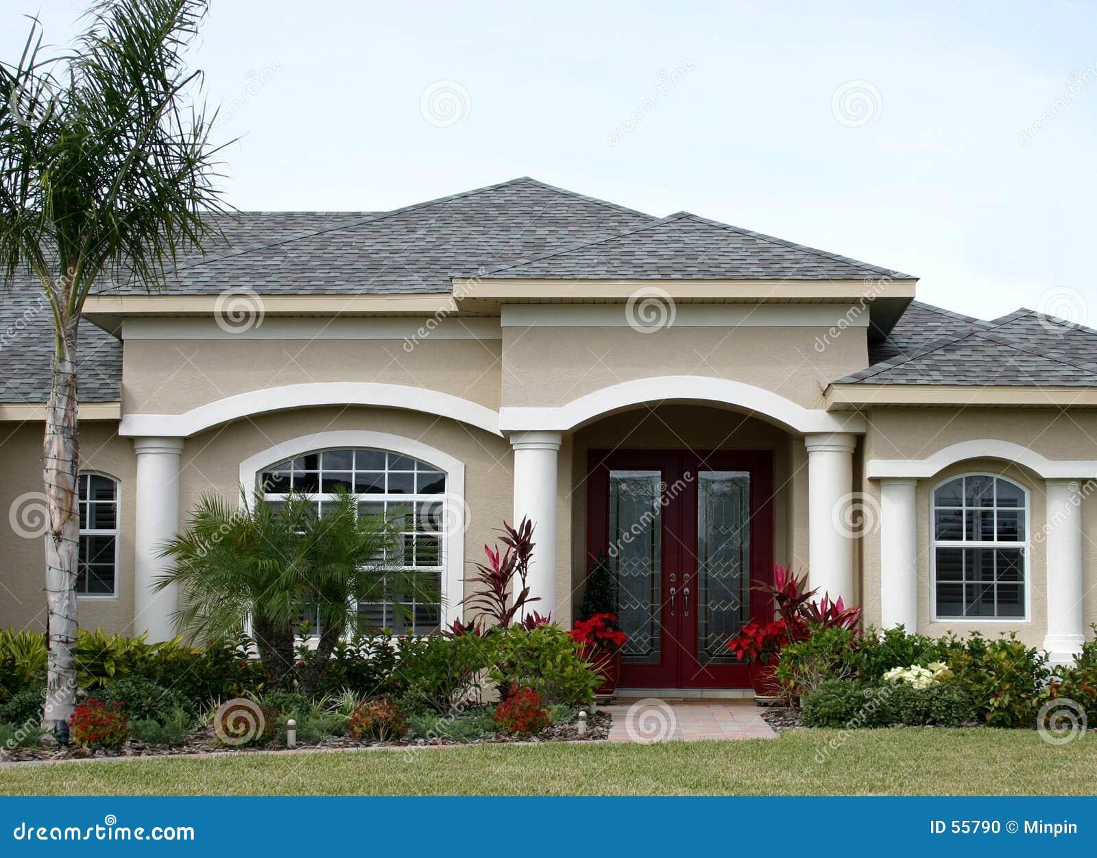 家庭模型郊区