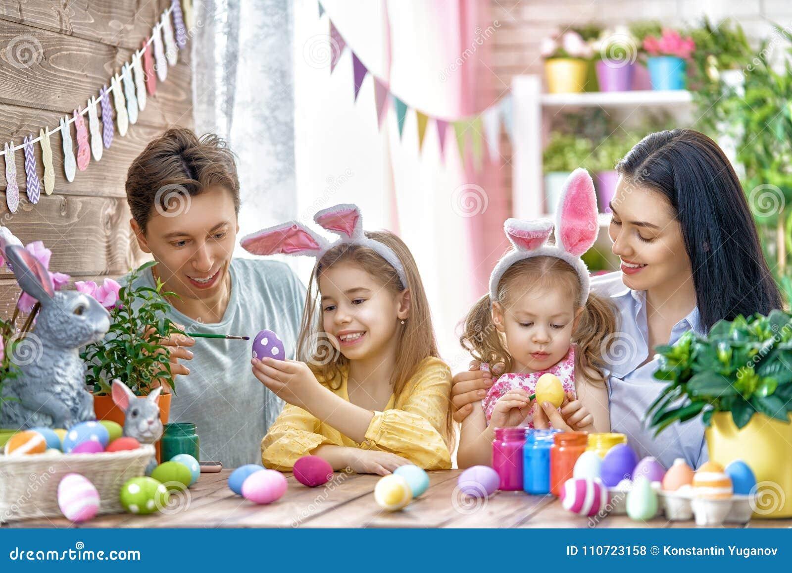 家庭绘鸡蛋