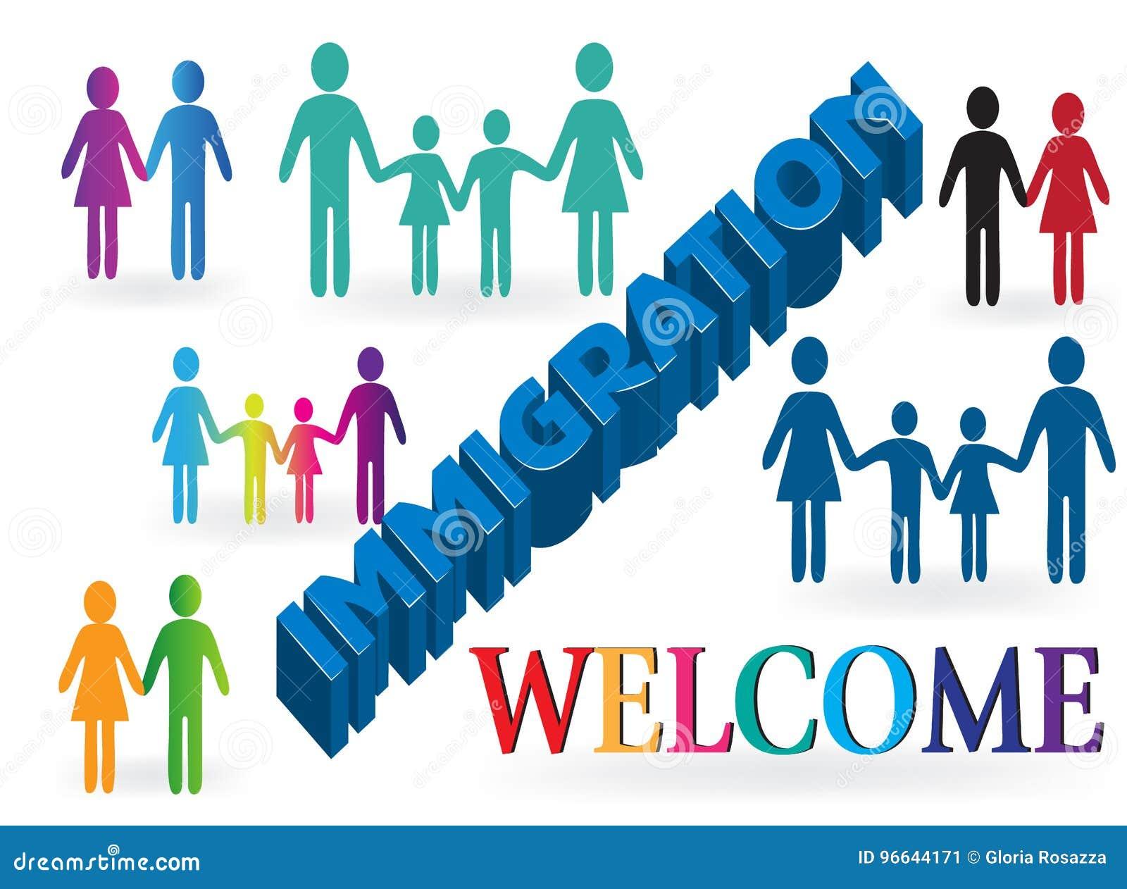 家庭移民欢迎