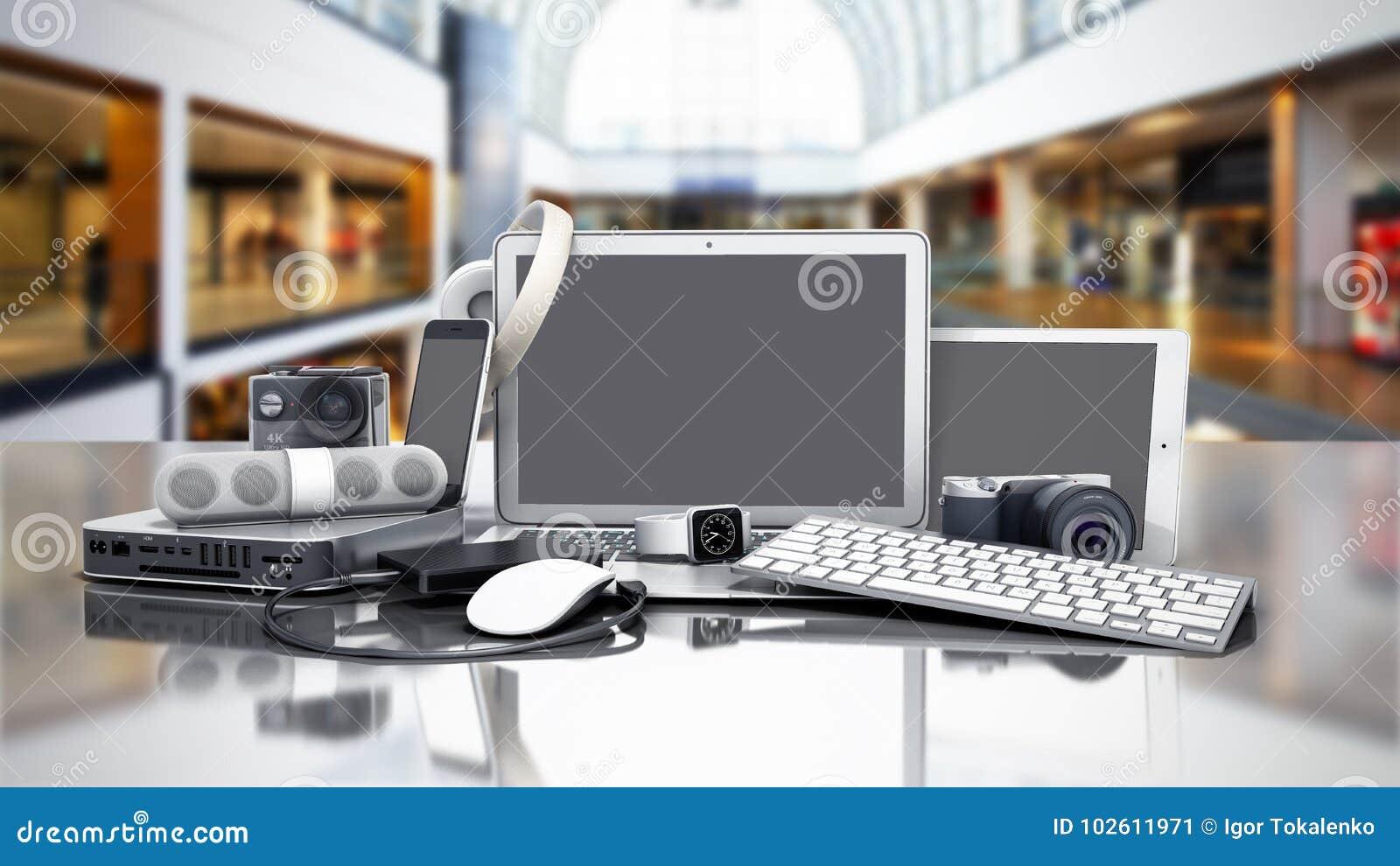 家电3D的汇集在销售背景中回报