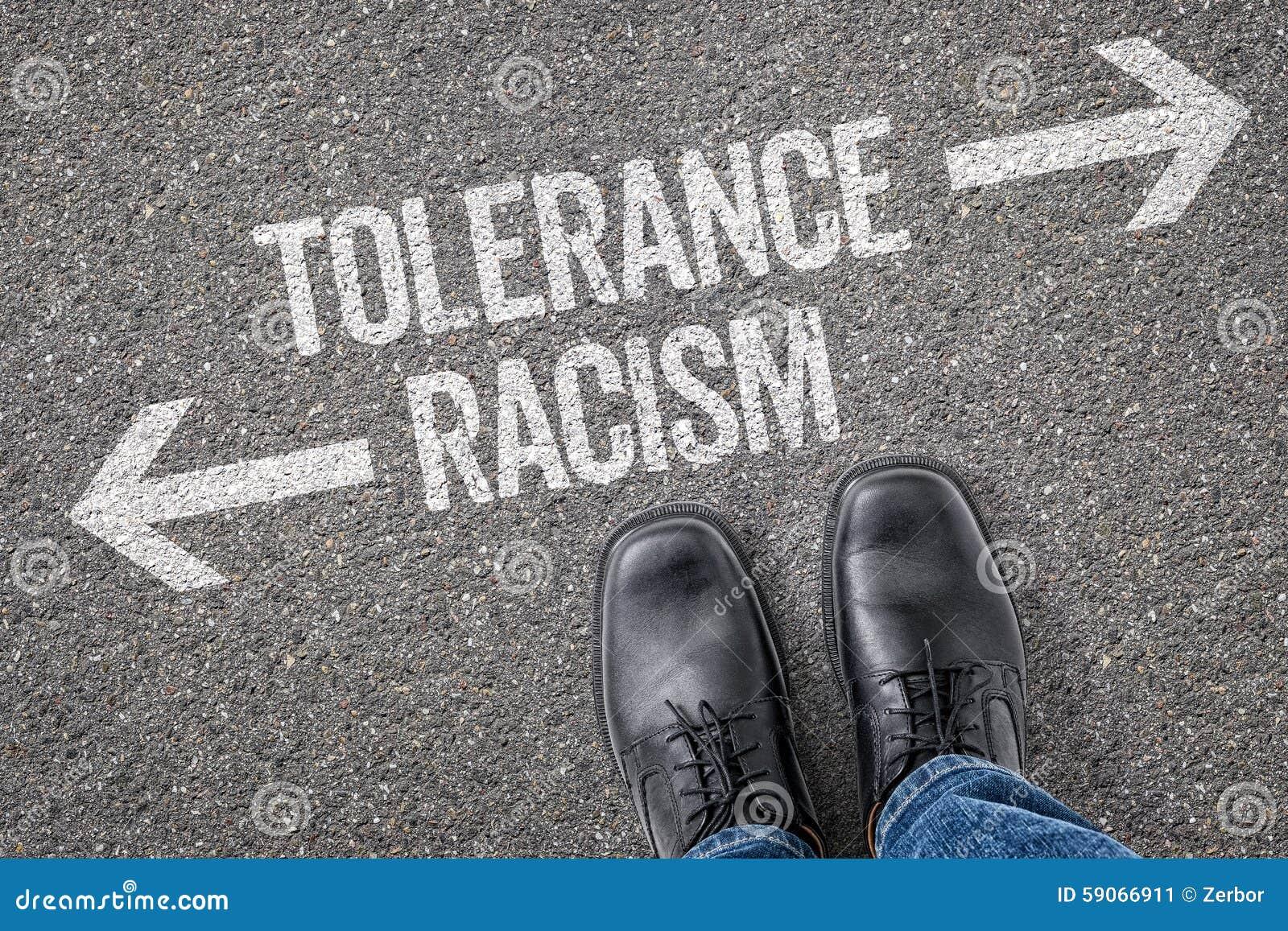 容忍或种族主义