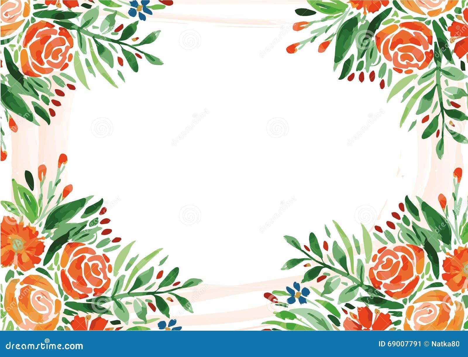 保存日期卡片,卡片,花,水彩图画,图画,水彩,上升了,花卉背景,花卉小图片