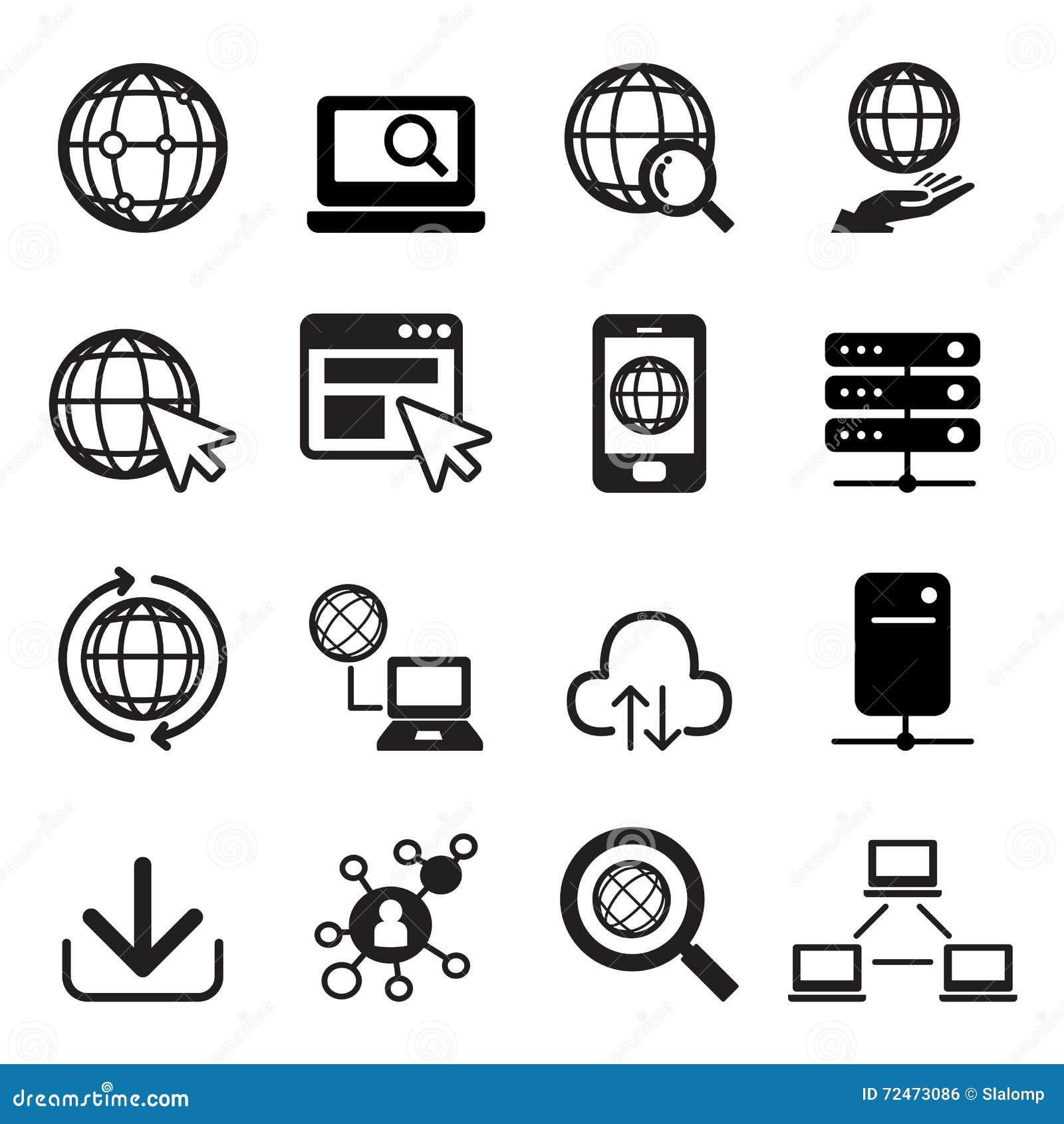 容易编辑被设置的图标互联网导航