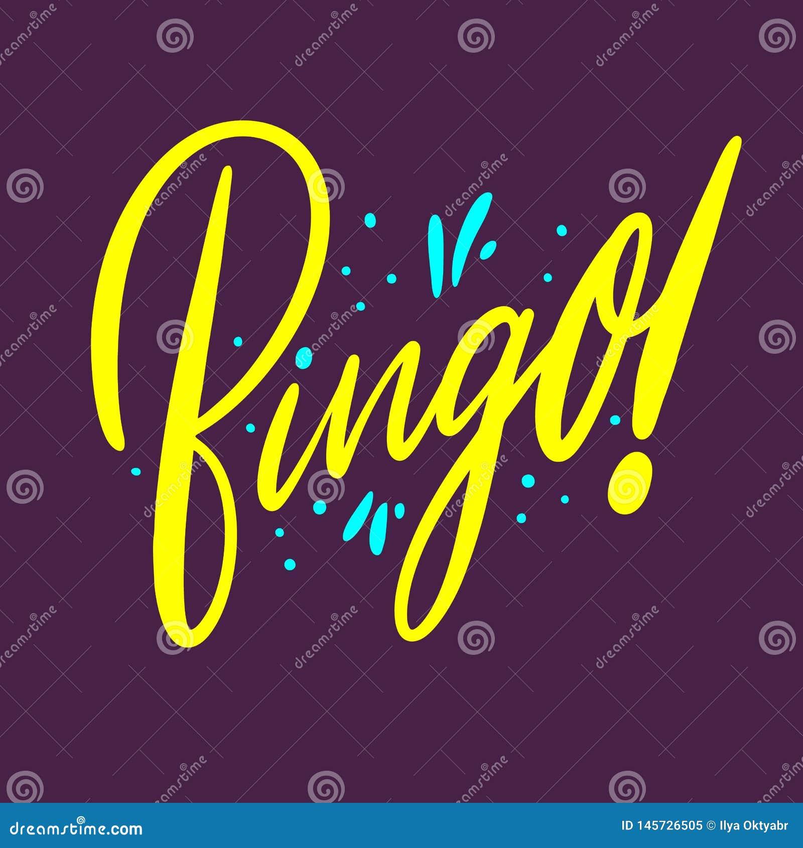 宾果游戏标志商标手拉的传染媒介字法 E