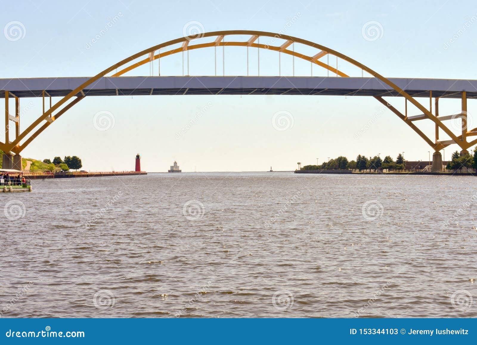 密尔沃基的Hoan桥梁