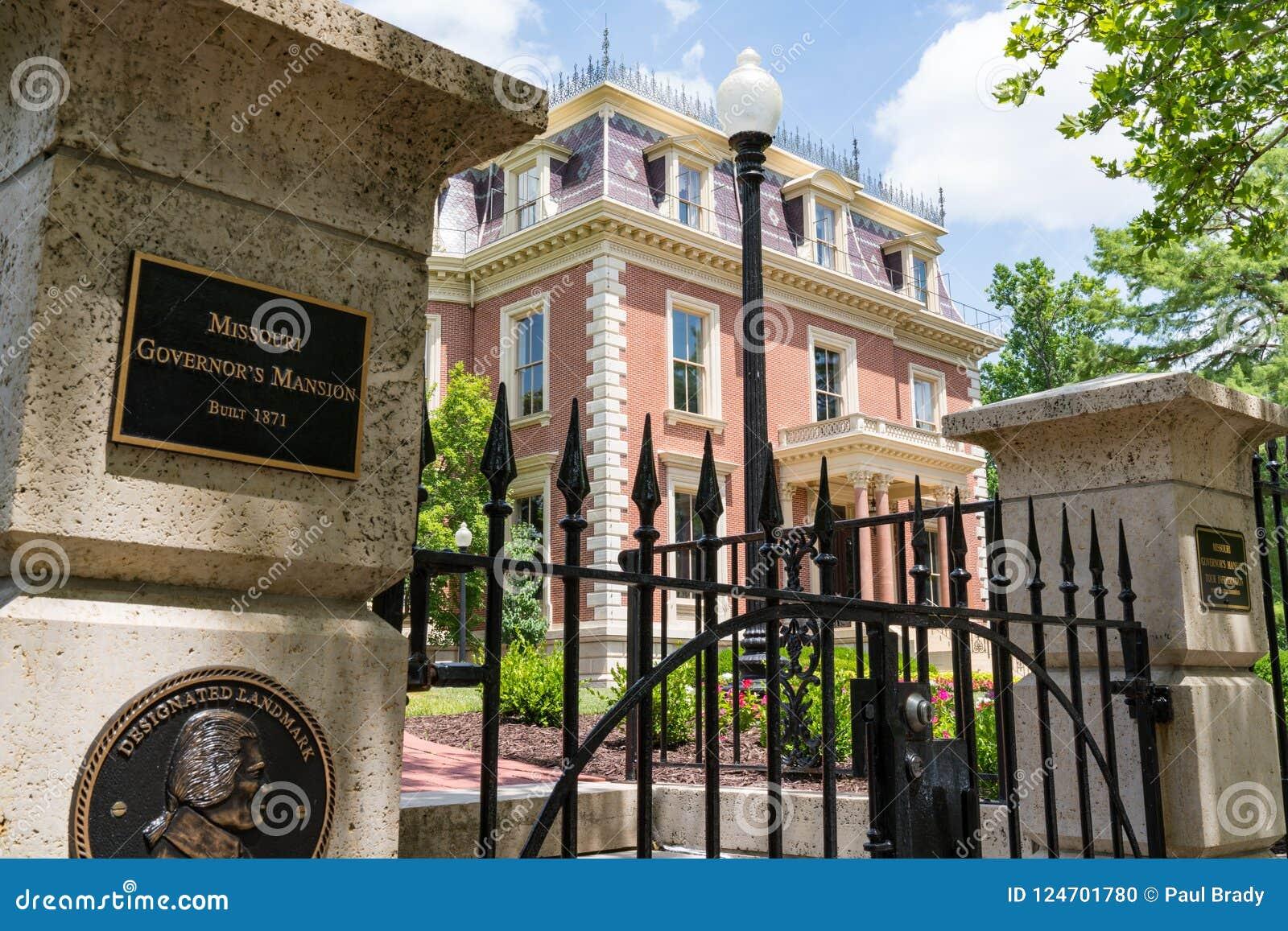 密苏里州长` s豪宅