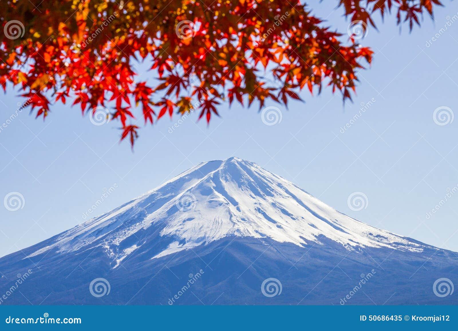 Download 富士mt 库存图片. 图片 包括有 空白, beautifuler, 地标, 天空, 红色, 叶子, 横向 - 50686435