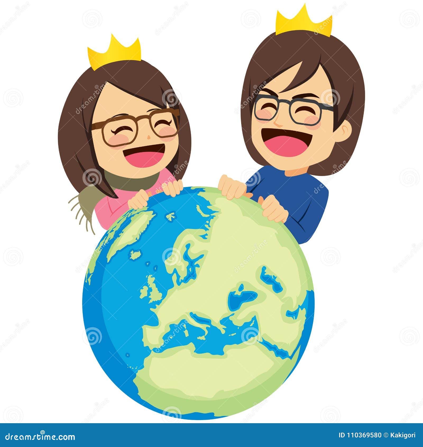 富有的夫妇统治世界